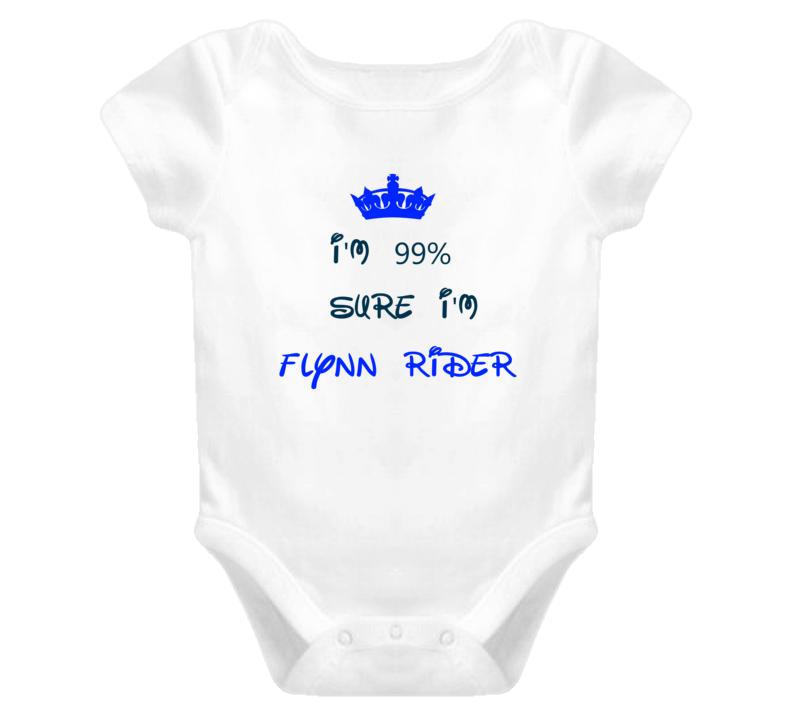 99 Percent Sure I'm Flynn Rider Cool Disney Character Cartoon T Shirt