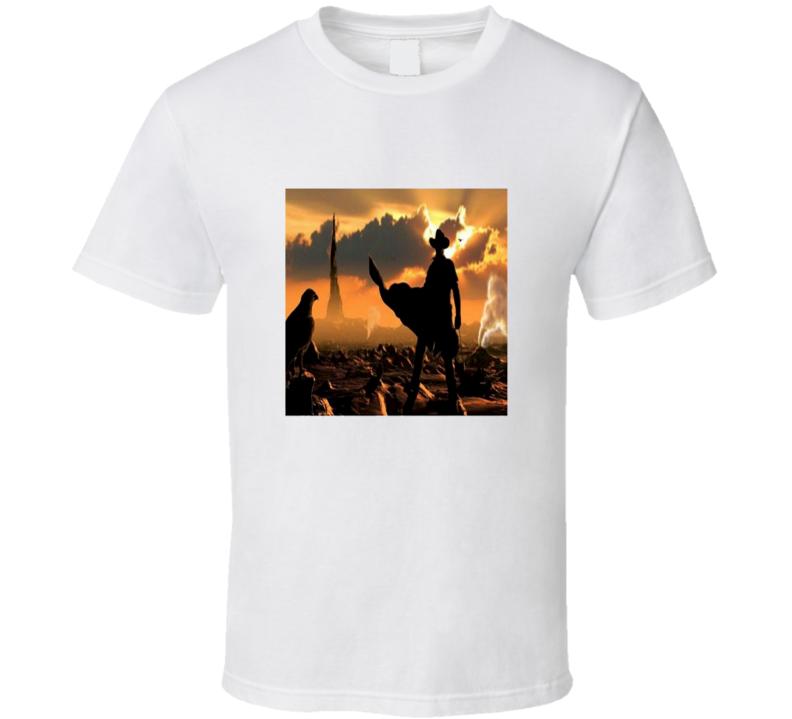 Tall Dark Tower Rises Book Cool Idris Elba Movie T Shirt