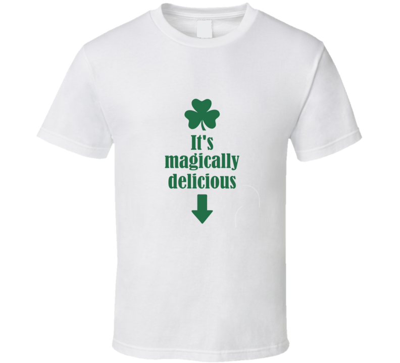 St. Patricks Day It's Magically Delicious Lucky Charms Irish Clover Cool T Shirt