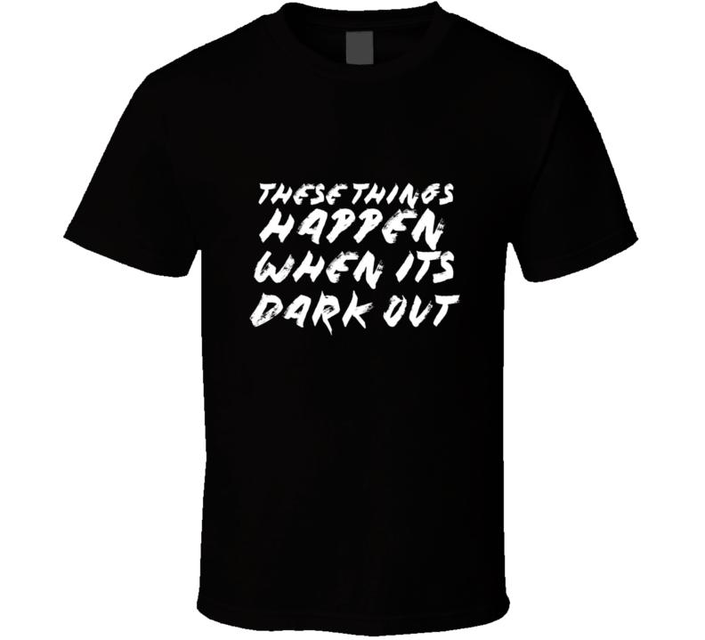 G Eazy These Things Happen When Its Dark Out Rap Album Hip Hop T Shirt