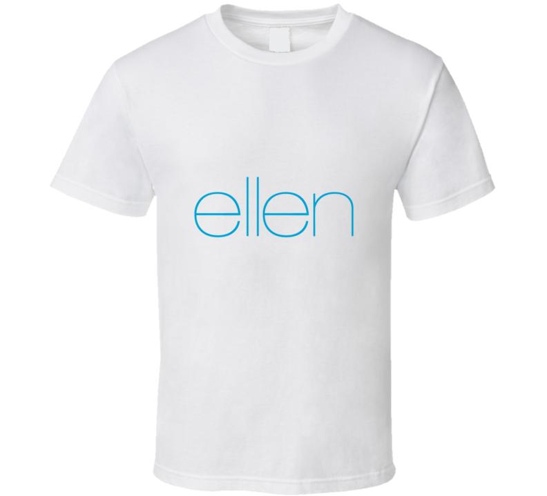 The Ellen DeGeneres TV Talk Show Comedian Host Cool Logo T Shirt