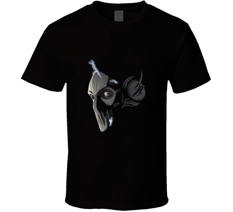 The Flash Zoom Face Speedster Barry Allen Cool TV Show T Shirt