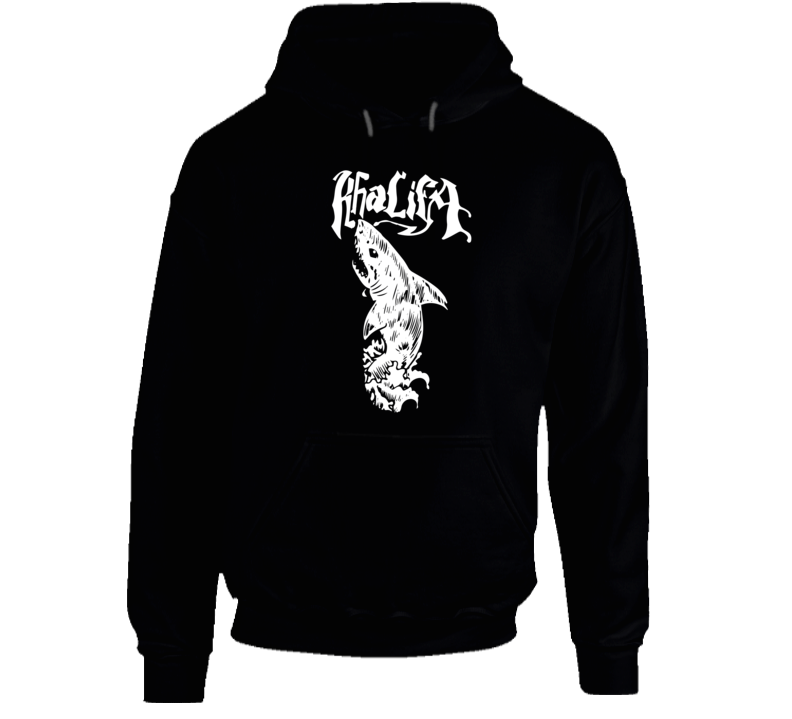 Wiz Khalifa Shark  Zoney Rap Song Cool Graphic Hoodie
