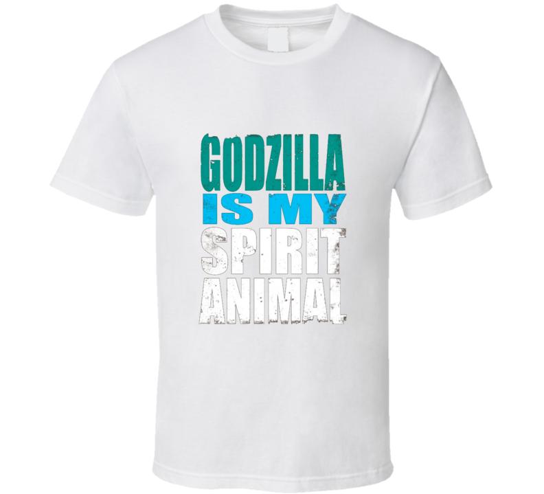 Godzilla Is My Spirit Animal Grunge Cool T Shirt