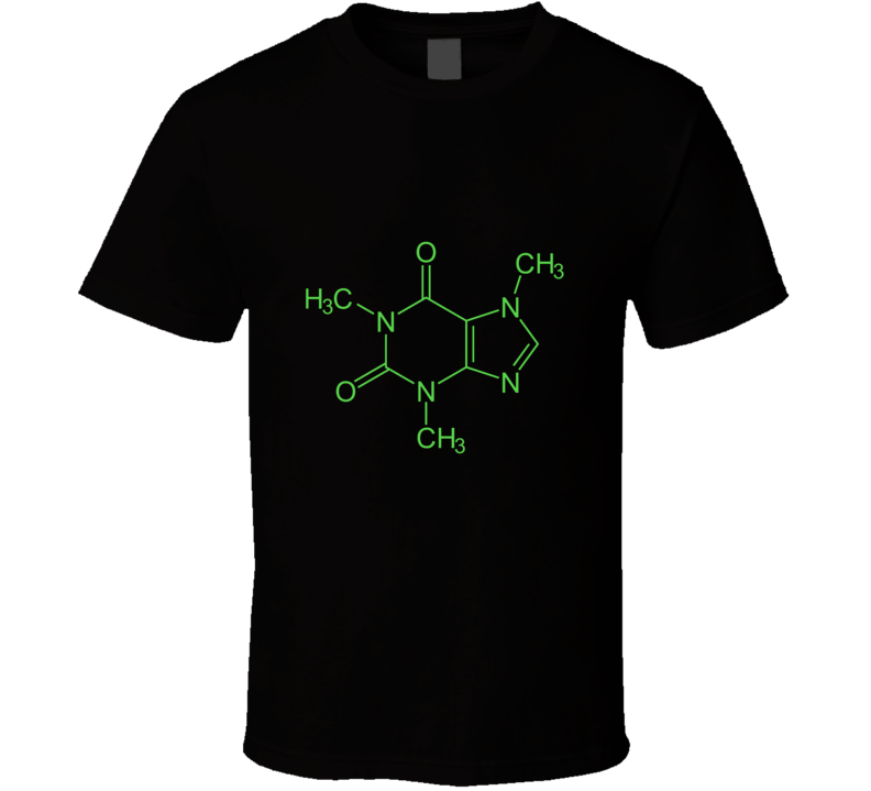 Cisco Ramon The Flash Caffeine Molecule Cool T Shirt