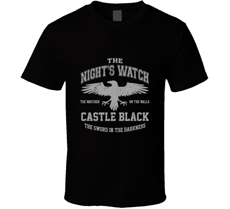 Game Of Thrones Nights Watch Sword In The Darkness Cool T Shirt