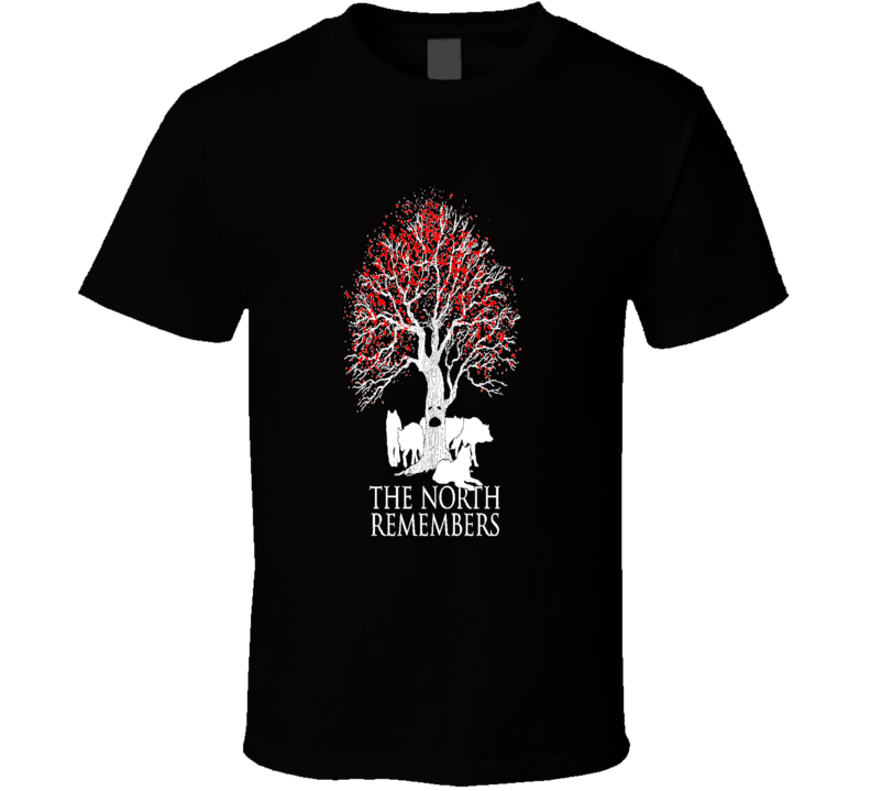 The North Remembers Jon Snow Game Of Thrones Cool Graphic T Shirt