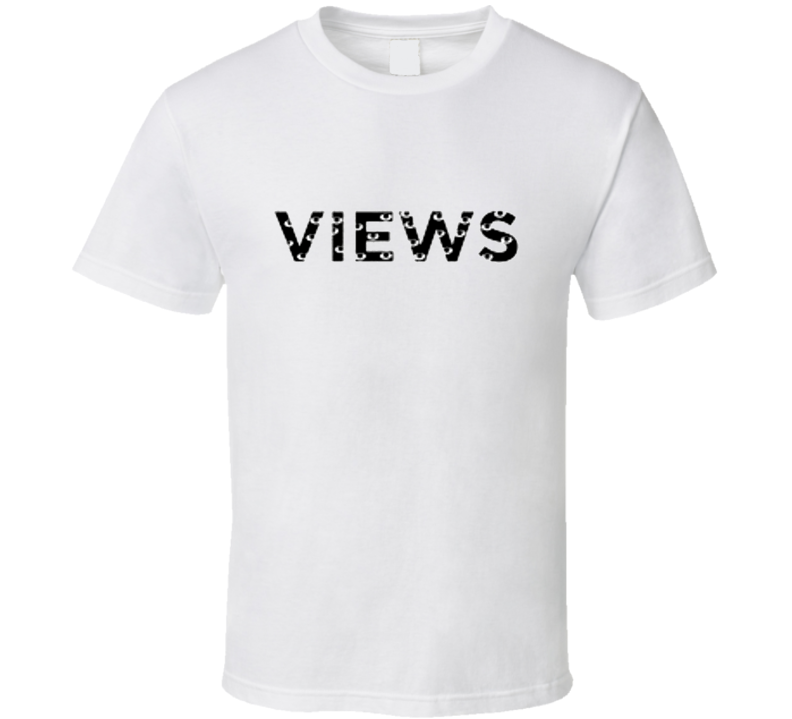 Views From The Six Music Album Logo T Shirt