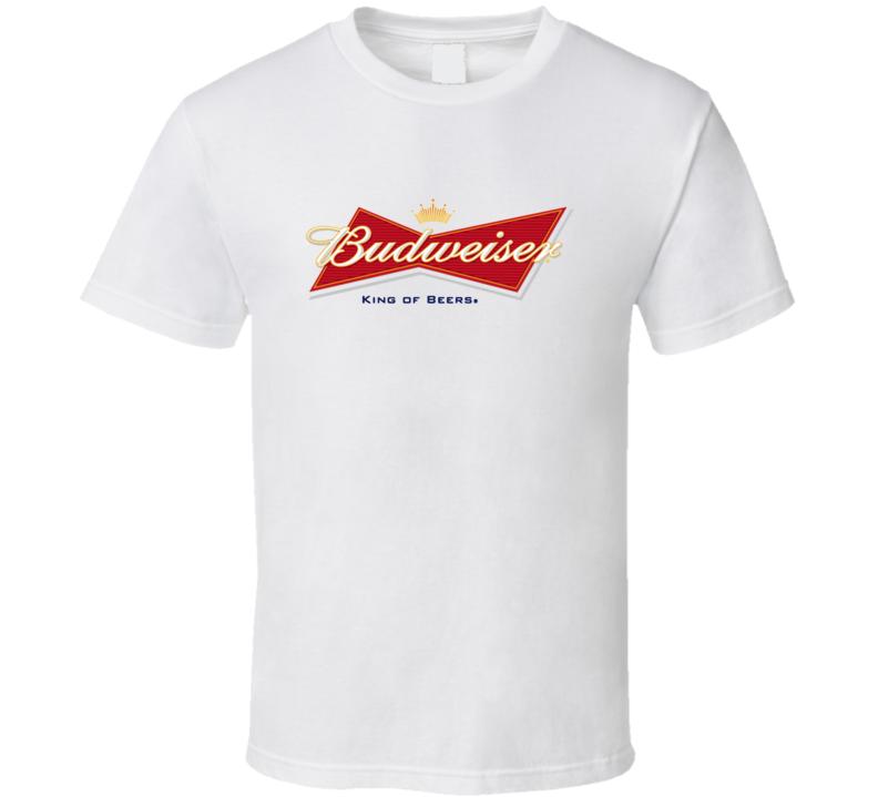 Budweiser America Beer Label Logo Cool T Shirt