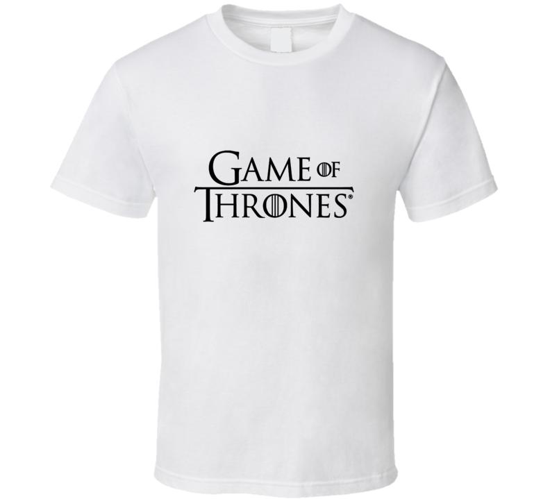Game Of Thrones TV Show Logo T Shirt