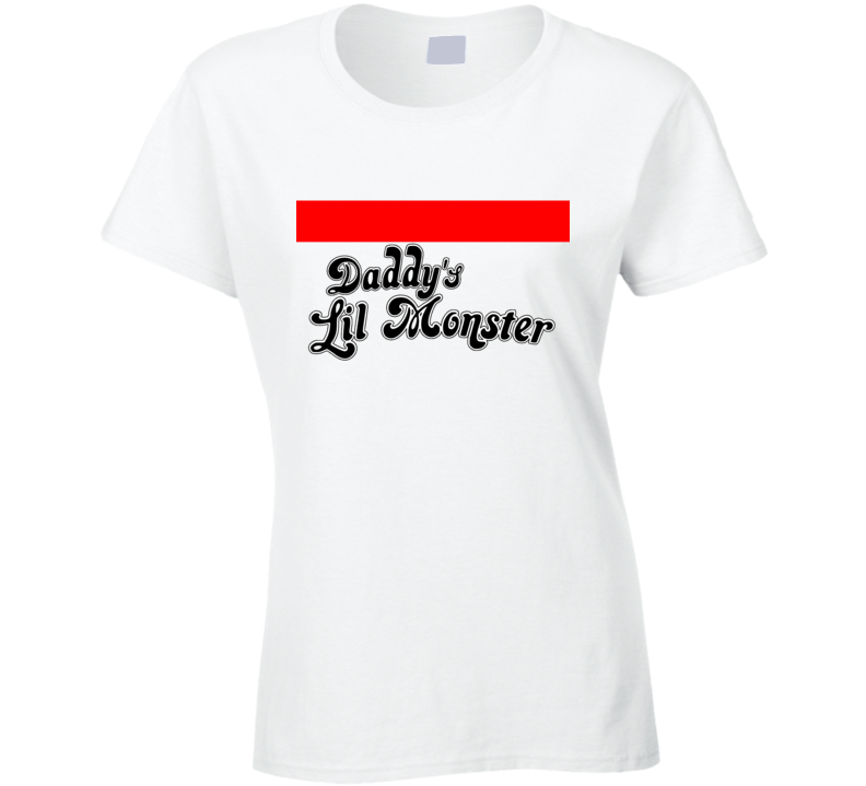 Daddy's Lil Monster DC Comics Suicide Squad Harley Quinn Ladies T Shirt