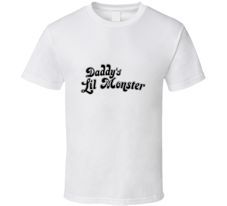 Suicide Squad Daddy's Lil Monster DC Comics Harley Quinn Inspired T Shirt