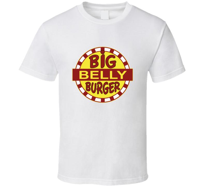 Big Belly Burger Restaurant Logo DC Comics The Flash Arrow Cool T Shirt