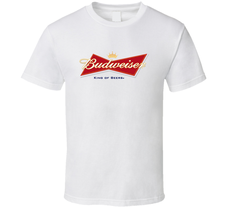 Budweiser King Of Beers Label Cool T Shirt