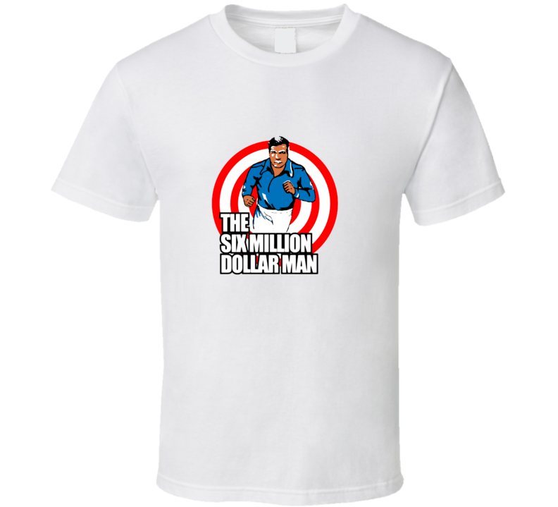 Quicksilver Six Million Dollar Man Xmen Apocalypse Cool Inspired Movie T Shirt