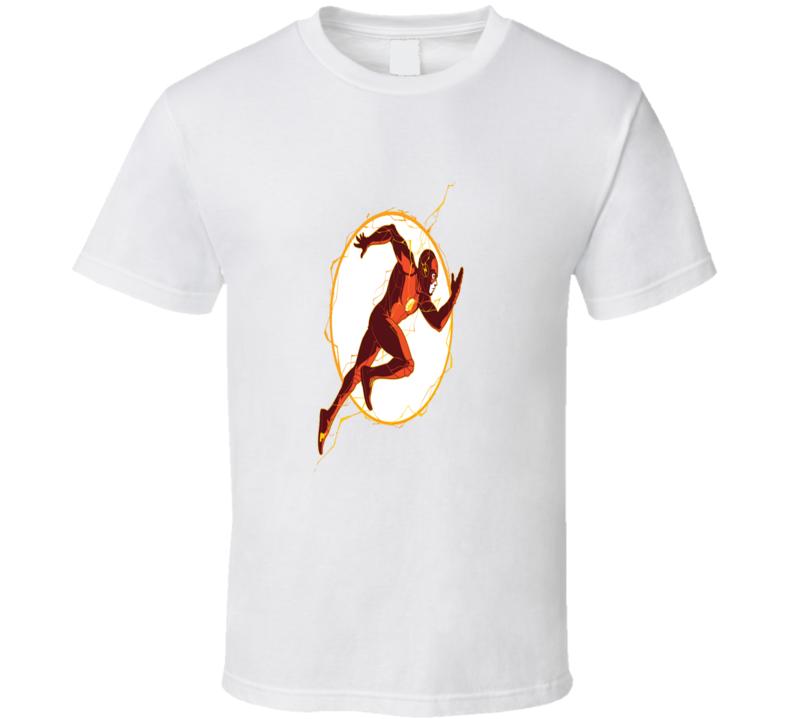Run Barry Run The Flash Barry Allen Cool Logo Fan T Shirt