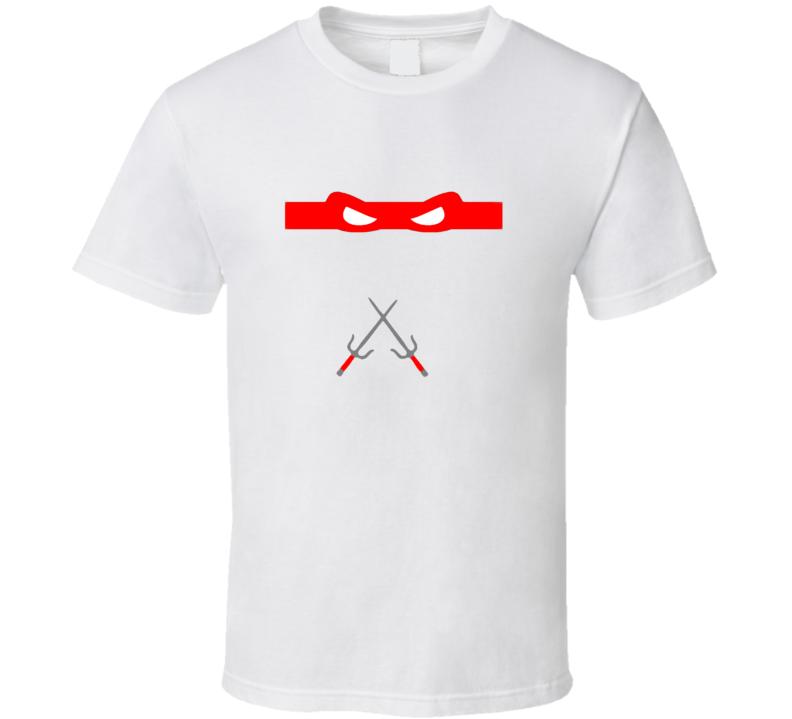 Teenage Mutant Ninja Turtles Raphael Costume Cool T Shirt