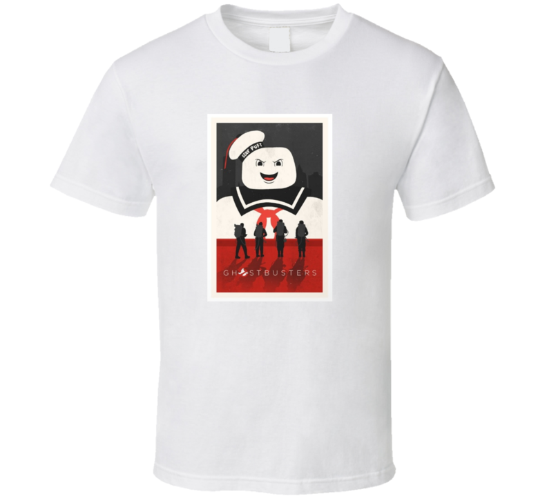 Ghostbusters Movie Cool Poster T Shirt