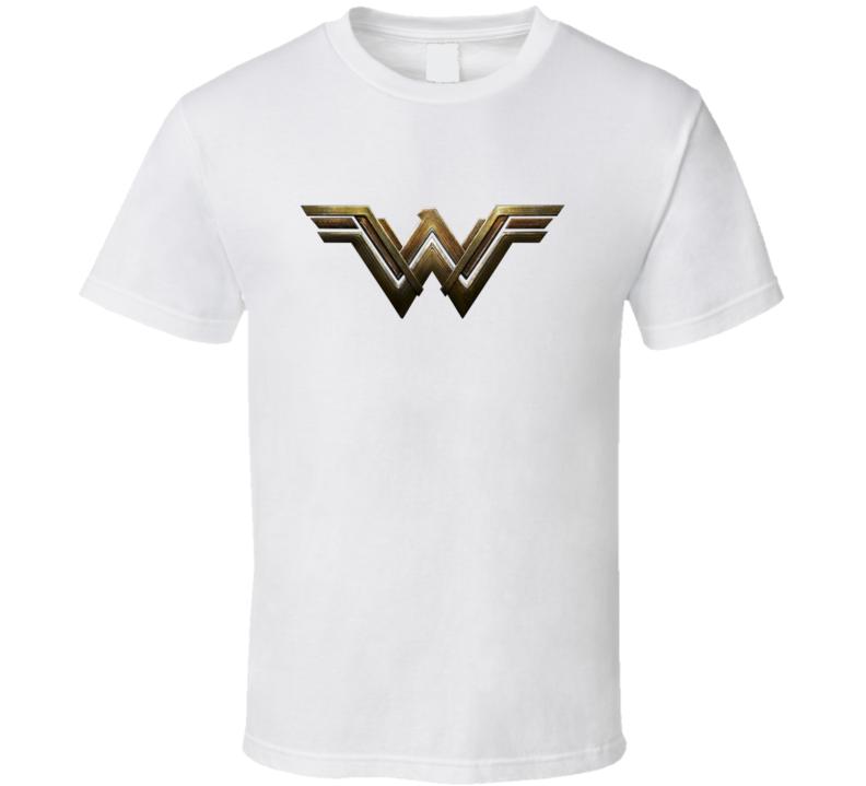 Wonder Woman Movie Logo T Shirt