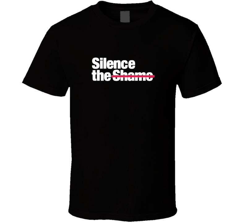 Silence The Shame Mental Health Campaign T Shirt