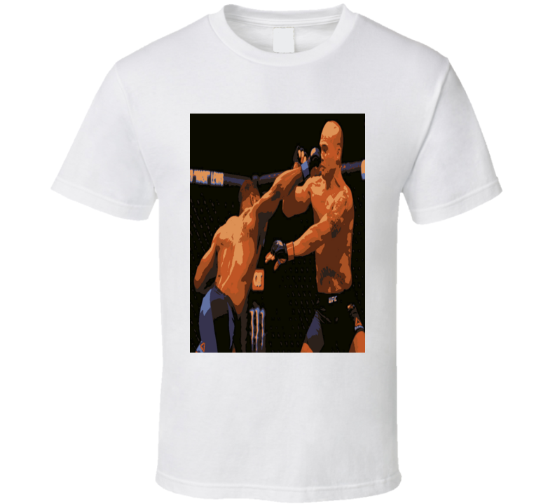 Tyron Woodley Knockout Punch Robbie Lawler UFC 201 Welterweight T Shirt