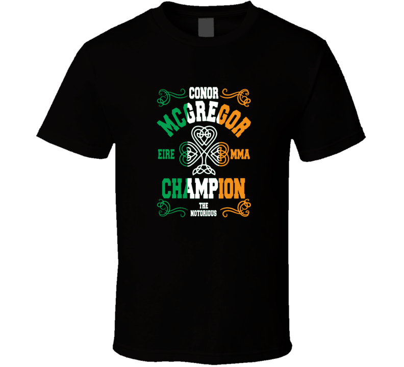 Conor Mcgregor Irish MMA Ufc Champion T Shirt