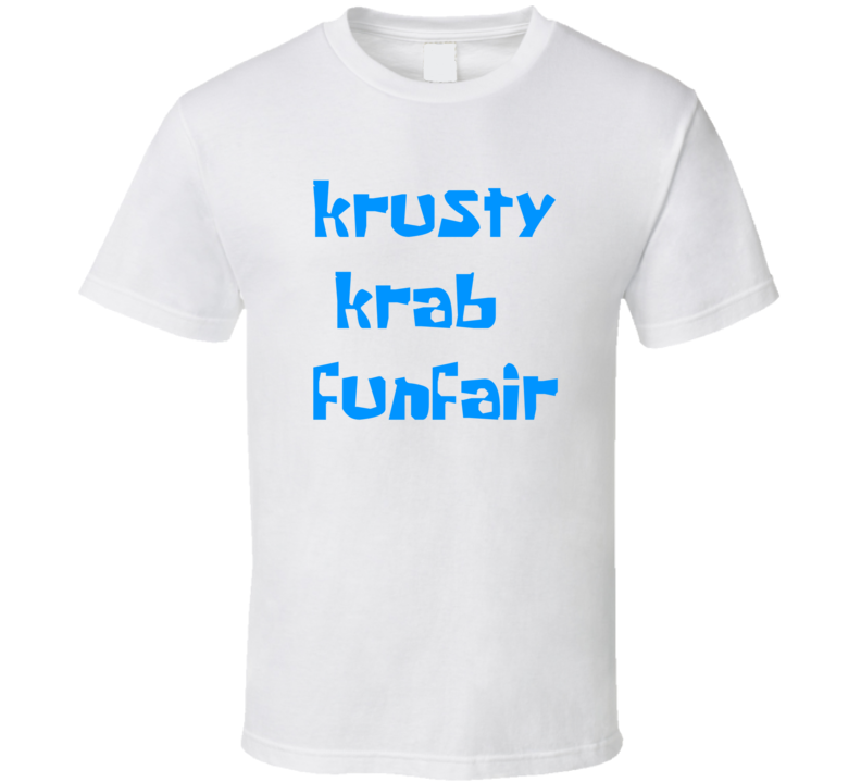 Krusty Krab Funfair T Shirt