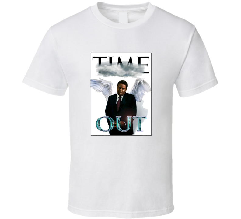 RIP Bernie Mac Time Out Tribute T Shirt