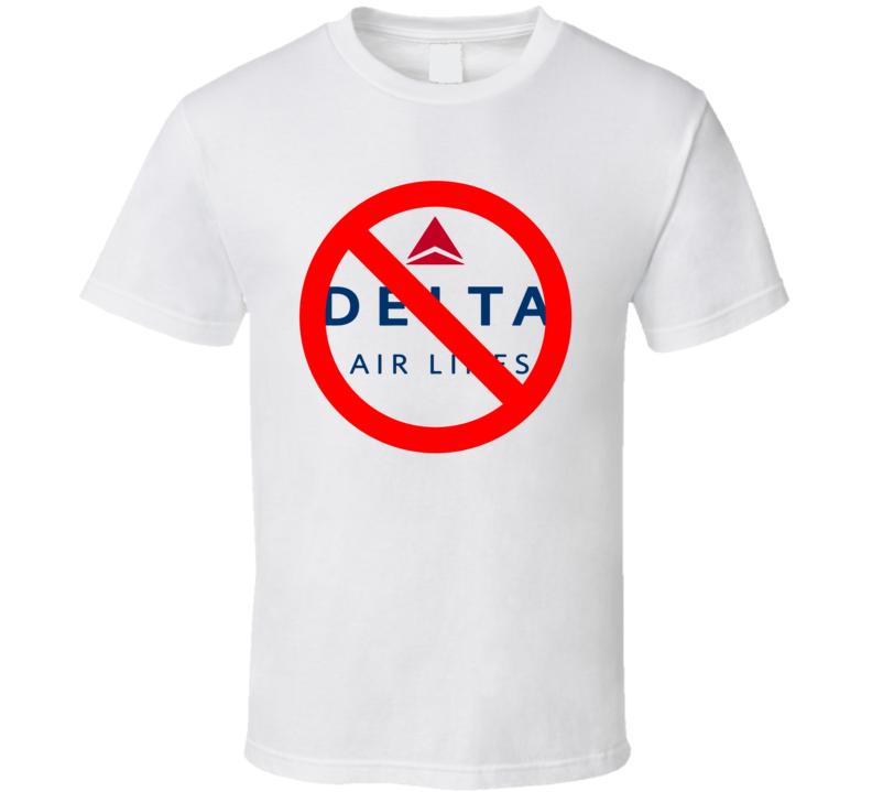Boycott Delta Airlines Racism T Shirt