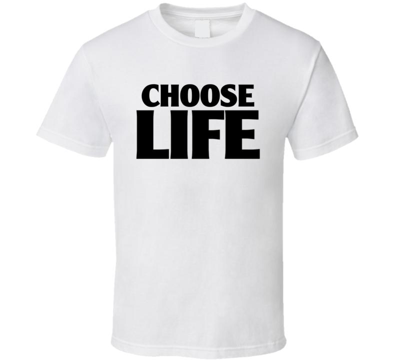 George Michael Choose Life T Shirt