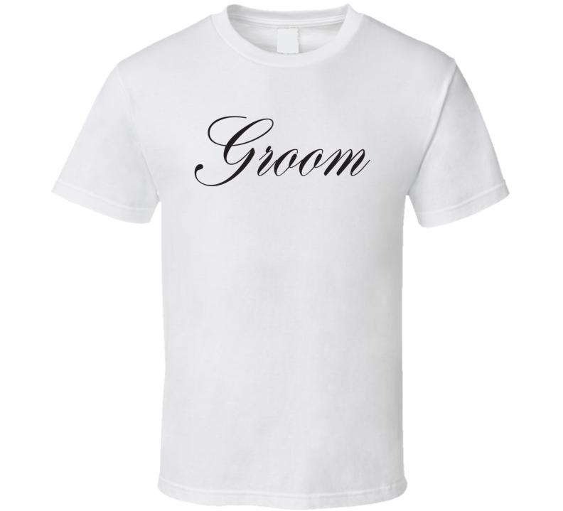 Groom Husband Marriage T Shirt