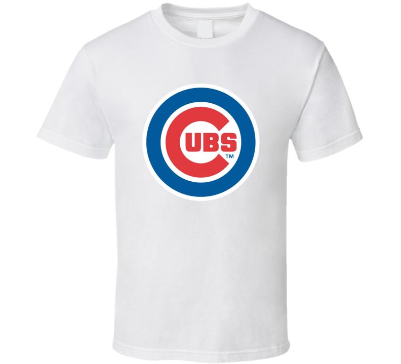 Chicago Cubs Logo Baseball T Shirt