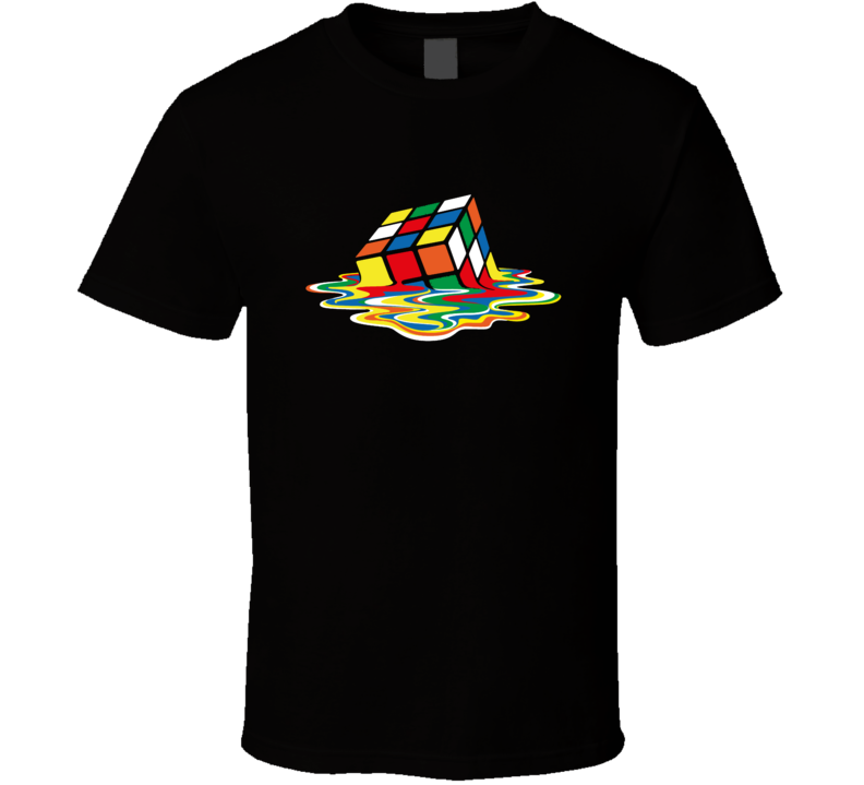 Sheldon Cooper Melted Rubix Cube T Shirt