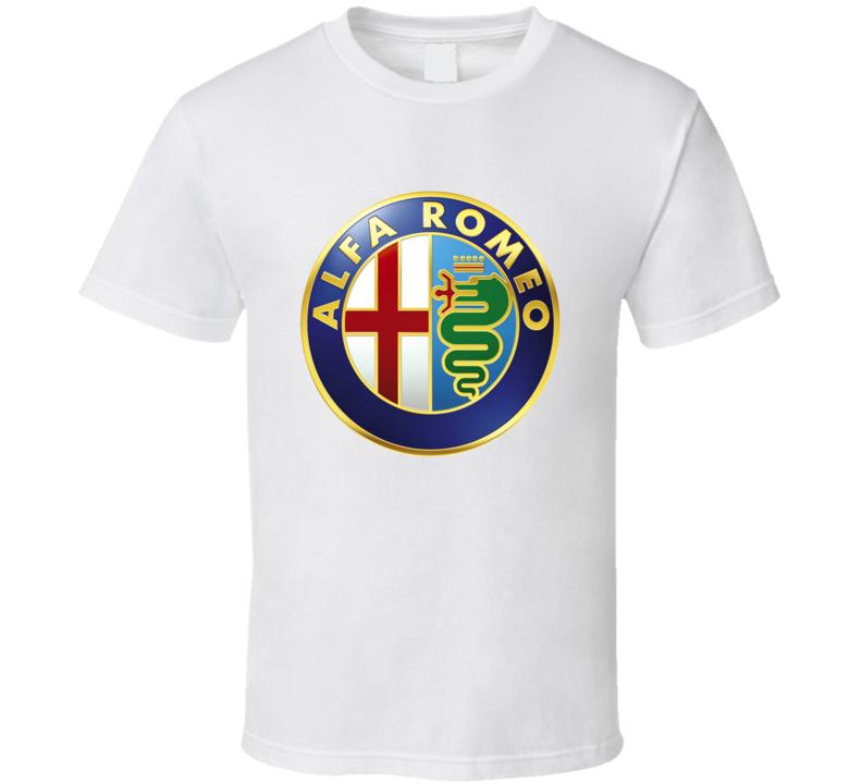 Alfa Romeo Car Logo T Shirt