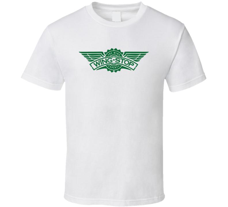 Wingstop Restuarant Logo T Shirt
