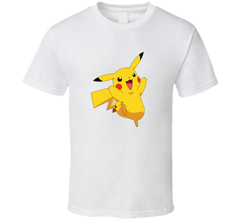 Happy Pikachu Pokemon T Shirt