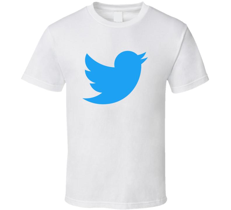 Twitter Logo T Shirt