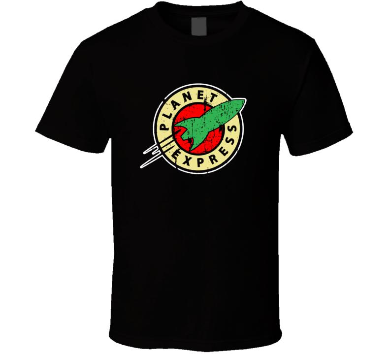 Planet Express Furturama Spaceship T Shirt