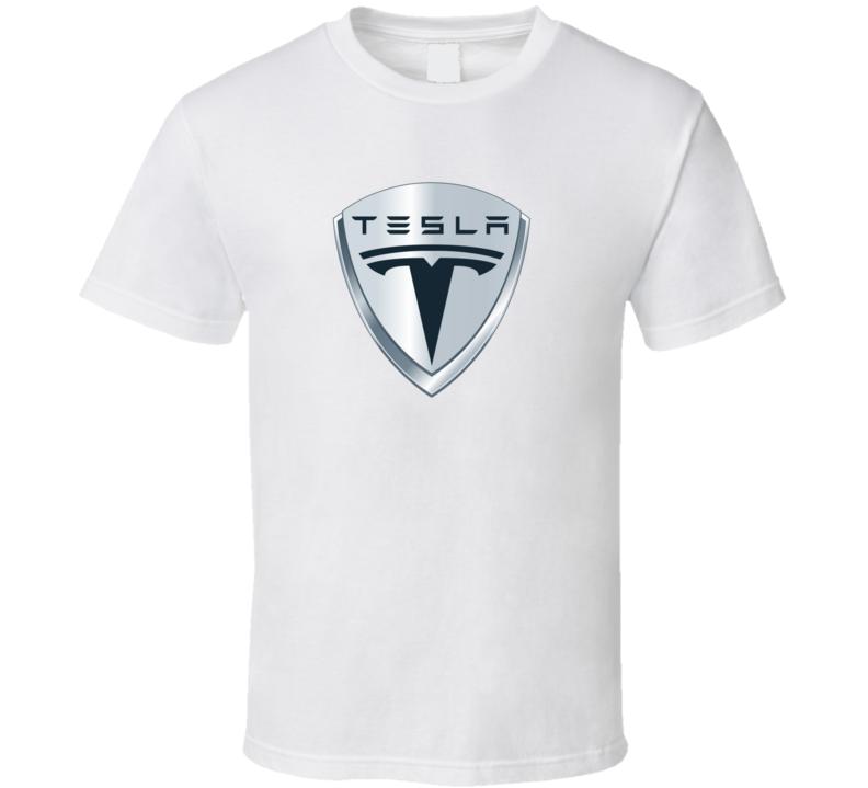 Tesla Car Logo T Shirt