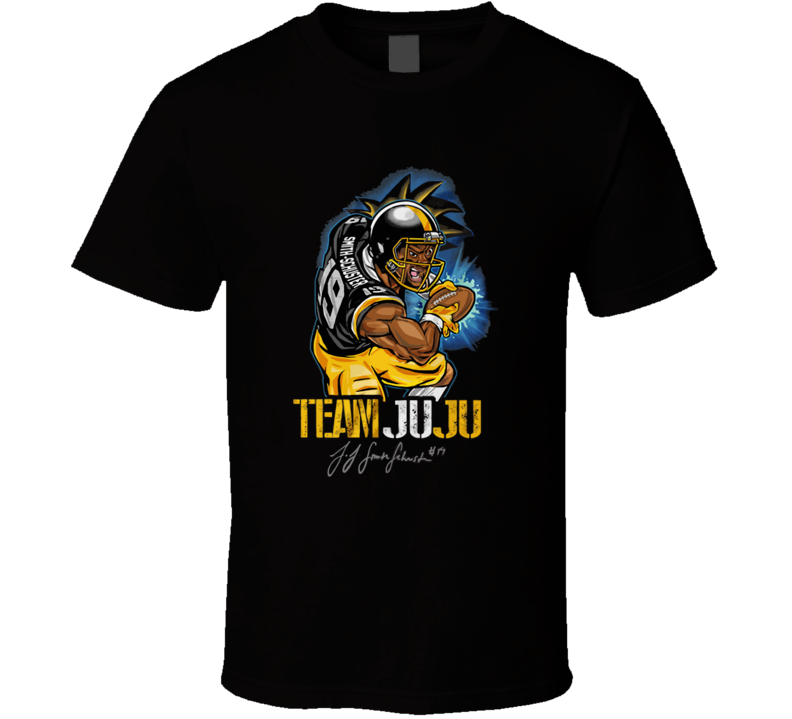 Team Juju Funny Football Steelers Fan T Shirt