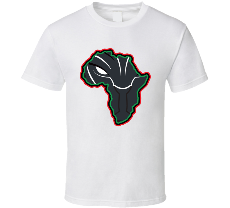 Black Panther Africa Movie T Shirt