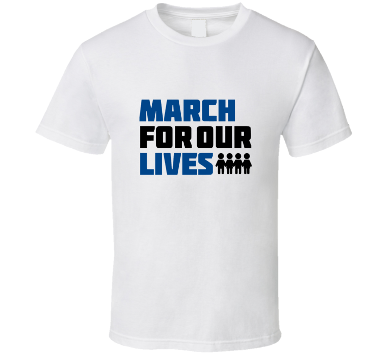 March For Our Lives Gun Violence T Shirt
