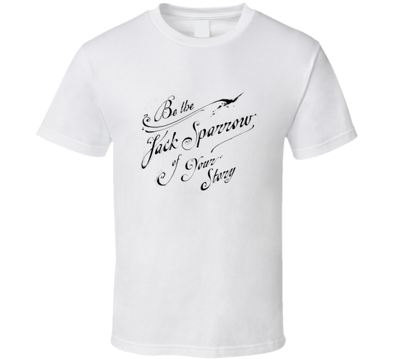 Jack Sparrow Cool Quote T Shirt