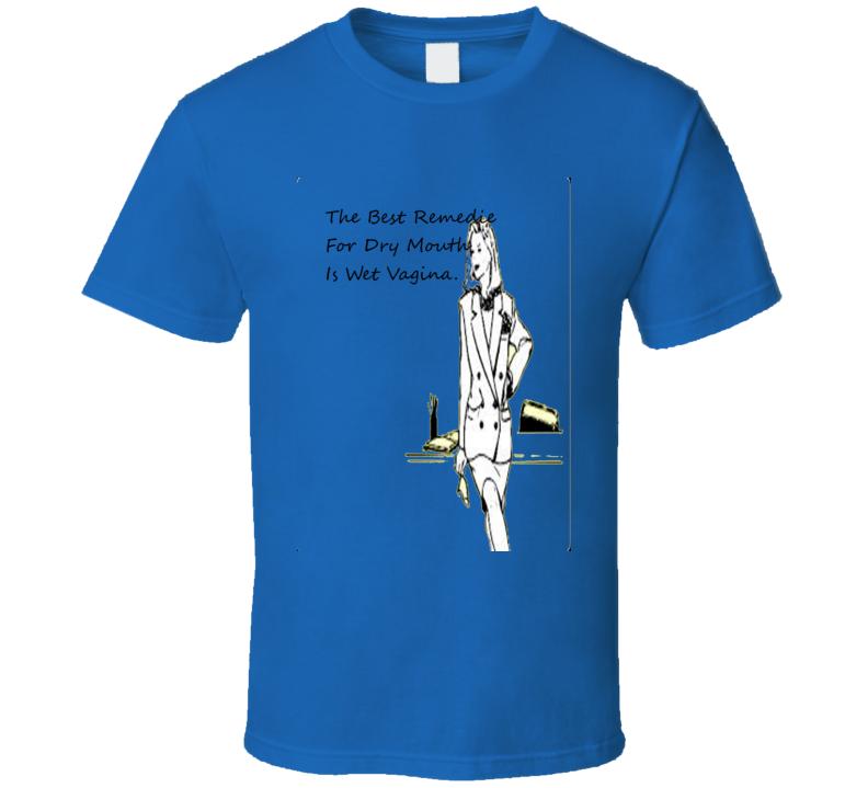 Remedie Wet Vagina Funny Meme T Shirt