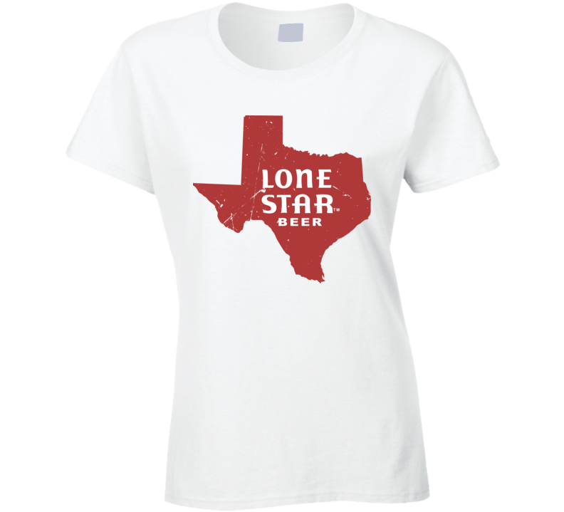 Lone Star Beer Texas Vintage Music Fan T Shirt as Worn by Beyonce