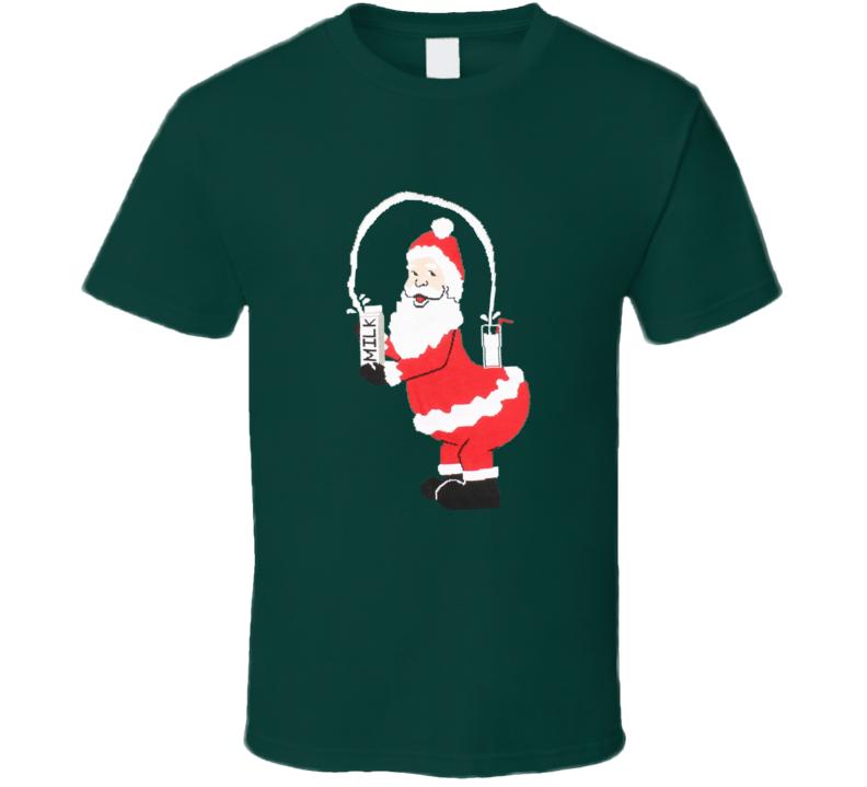 Break The Internet Santa Holiday Funny Trendy Christmas T Shirt