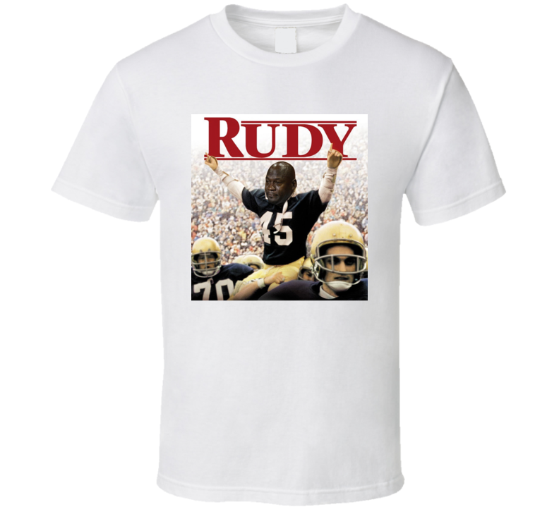 Notre Dame Football Fan Rudy T Shirt