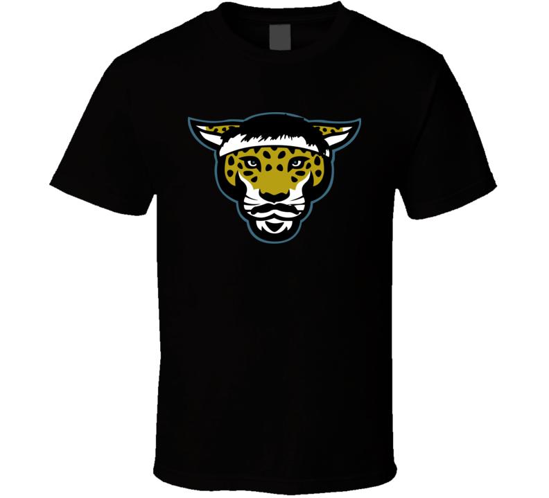 Gardner Minshew Mania Jaguar Mustache Headband Fan T Shirt