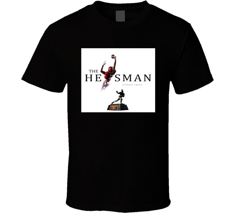 Devonta Smith Alabama Heisman Trophy Winner T Shirt
