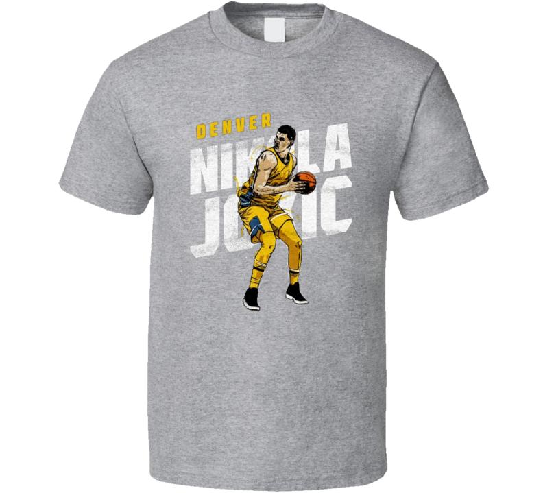 Nikola Jokic Denver Basketball Fan Gift T Shirt